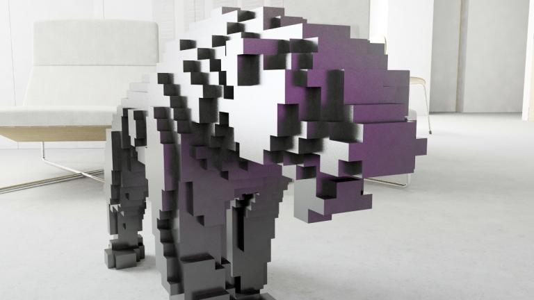 pixel cougar